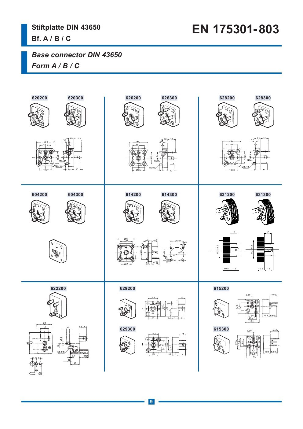 Din 43650 Connector Wiring Diagram